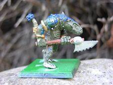 WARHAMMER Lizardmen kroxigor # 1, verniciato