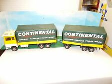 MATCHBOX DIE CAST SUPER KINGS TRUCK & TRAILER CONTINENTAL UNBOXED. VGC