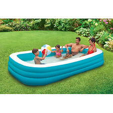 Garden Inflatable Swimming Pool Summer Water Toy Outdoor Yard Inflated Kid Pools