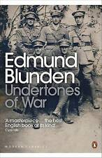 Undertones of War (Penguin Modern Classics), Blunden, Edmund, New, Paperback