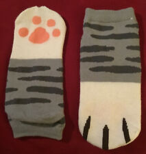 Cute Gray Tabby Cat Ankle Socks Promo Item With Secret Life Of Pets Blu-ray NEW