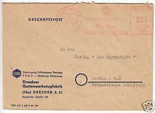 AFS, Dresdner Gartenwerkzeugfabrik, o (10a) Dresden A21, 21.12.51