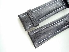 REAL SHARK STRAP, black, 22/18 (120/80) specially made for Breitling watches
