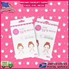 80 pieces Set Instant Face Neck Eye Face lift Tape V Shape Facelift Antiwrinkle