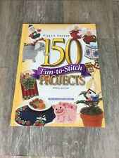 Plastic Canvas 150 Fun-to-Stitch Projects Edited By Laura Scott Vintage 1997