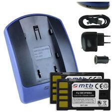 2 Batteries + Chargeur USB BN-VF808 pour JVC GZ-MG331, MG332, MG333, MG335