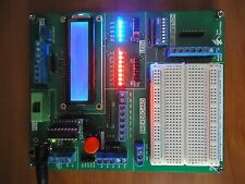 Development Kit with PIC16F628 and PIC18F1320