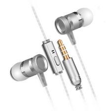 In-Ear Ohrhörer Kopfhörer Metall Mic schweren BASS HD-Sound für iPhone iPod iPad