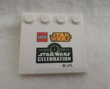 Lego Star Wars Celebration 7 Anaheim 2015 exclusive 4x4 stand base plate