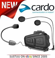 NEW Cardo Scala Rider QZ Waterproof Bluetooth Bike Helmet Headset & MP3 BTSRQZ
