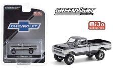 PRE-ORDER GREENLIGHT MIJO EXCLUSIVE 1969 K10 4X4 TRUCK BLACK AND SILVER