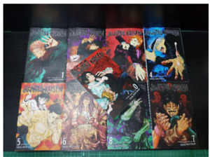 Jujutsu Kaisen Gege Akutami Manga Volume 0-9 English Comic New