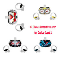 VR Glasses Skin Protective Cover Film Removable Cute Sticker for Oculus Quest 2