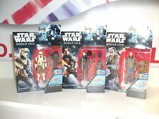 "star wars ROGUE ONE 3.75"" job lot BUNDLE Shoretrooper,jyn erso & bodhi rook NEW"