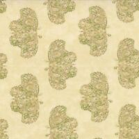 """Moda Woodland Summer Ivory 100% Quilting Cotton Print 44"""" Butterflies SBY"""