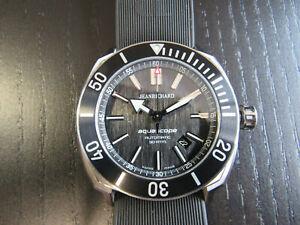 JeanRichard Aquascope Men's Swiss Automatic 300M Dive Watch JR60 Movement