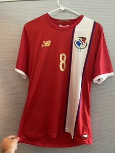 Gabriel Torres Panama 2016 Copa Centenario Home Soccer Jersey New Balance Large