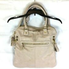 Steve Madden Large Expandable Handbag Purse Pebbled Vegan Leather With Strap