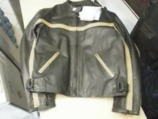 Genuine Leather Mens Jacket shoulder and elbow pads XL NWT #15