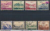 Schweiz 387-394 gestempelt 1941 Landschaften (8731932