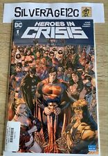 Heroes in Crisis #1 to #9 Complete Series Run in High-Grade! (DC, 2018)