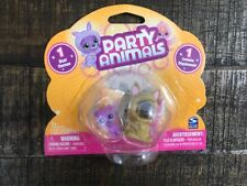 Spin Master PARTY ANIMALS PLAYSET TOY 1- BEAR & 1- KANGAROO COSTUME-DATED 2010