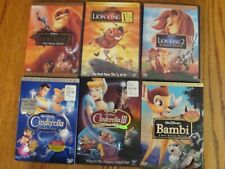 Disney DVD Movies Lot of 12 Pre-owned