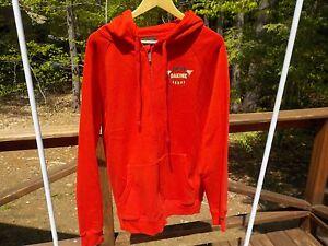 NEW Dakine Men's L Red Full Zip Hoodie Hooded Sweatshirt