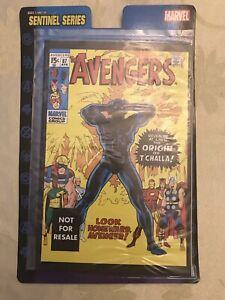 AVENGERS #87 MARVEL LEGENDS VARIANT Reprint on the Card BLACK PANTHER Origin