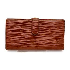 Louis Vuitton LV Long Wallet Continental Viennois T11664 Browns Epi 1718639