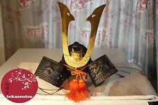 KABUTO Casque Samourai Helmet Samurai Genuine Authentique Antique Japonais