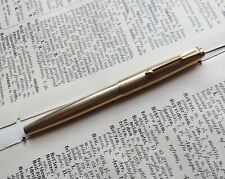 Parker 17 Lady Insignia Fountain Pen Gold Nib 18K France Parker Double Or 1960's