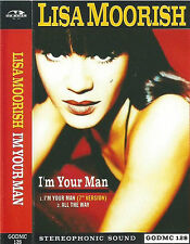 Lisa Moorish ‎I'm Your Man CASSETTE SINGLE Electronic House Go! Beat GODMC 128