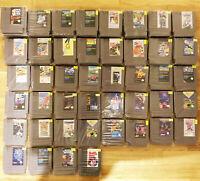 Über 40 Nintendo NES Spiele 68 gesamt ENTERTAINMENT SYSTEM MODULE AUSWÄHLEN! TOP