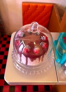 Our Generation Retro Diner Replacement Part LAYER CAKE SLICE STAND & COVER mint