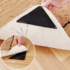 4 pcs Rug Carpet Mat Grippers Non Slip Anti Skid Reusable Silicone Grip Pads K6