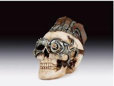Steampunk Skull Figurine Statue Skeleton Halloween