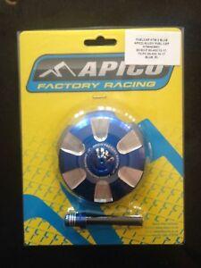 KTM SX 85 105 125 250 300 2013-2020 APICO FUEL PETROL CAP & VENT PIPE BLUE