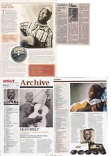 LEAD BELLY : CUTTINGS COLLECTION
