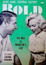 Marilyn Monroe Magazine 1954 Bold Premiere Debut V1N1 Joe DiMaggio Lili St. Cyr