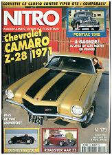 NITRO n°179 CAMARO Z28 '71/PONTIAC SEDAN'48/CORVETTE C5 VS VIPER GTS/ +poster