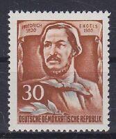 DDR Mi Nr. 489 A **, 60. Todestag Engels 1955, postfrisch, MNH