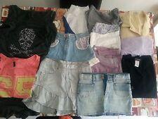Lotto 8 stock 10 pezzi abbigliamento misto donna TG.S