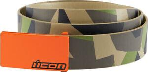"""Icon Racing Camo Deployed Adult Belt Size Medium 34-36"""""""
