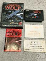 [VG++]OPERATION WOLF Nintendo Famicom FC NES NTSC-J Japan Tested Works TAITO