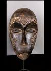 Old Tribal Bena Lulua  Mask    ---  Congo