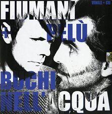 """FIUMANI FEDERICO E PIERO PELU' BUCHI NELL'ACQUA VINILE EP 10""""+ CD SINGOLO NUOVO"""