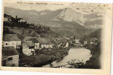CPA  Vallée de la Loue -Mouthier - Le Village Bas   (183220)
