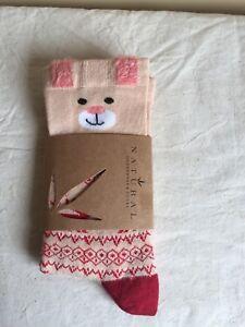 Brand New Reindeer Winter Women's Socks by Natural Underwear And Socks Eco