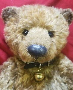 "Bonnie Windell ""Windle"" OOAK artist teddy bear mohair 16"" Windlewood Bears 1997"